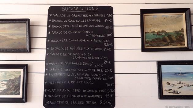 Restaurant Le ROC'H AR MOR à Plouescat
